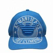ARMANI JEANS nowa czapka z daszkiem BLUE