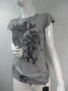 PINKO markowy t-shirt EFEKTOWNY M L