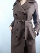 ELISABETTA FRANCHI efektowny płaszcz trencz IT48 -70%%%ITALY