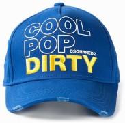 DSQUARED nowa czapka z daszkiem BLUE 2016
