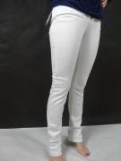 ARMANI JEANS markowe damskie białe jeansy śliczne size 26