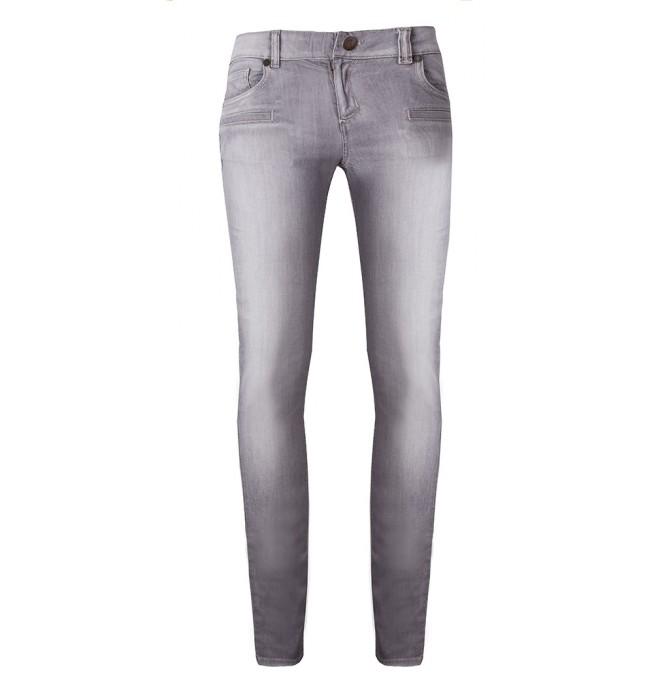 69e235c46e81 TWIN-SET markowe jeansy spodnie damskie szare slim -50%%% szary