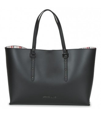 ARMANI JEANS markowa torebka SHOPPER BAG BLACK