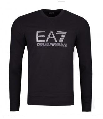 7bbeb9853c058d EMPORIO ARMANI EA7 sportowa męska bluza BLACK