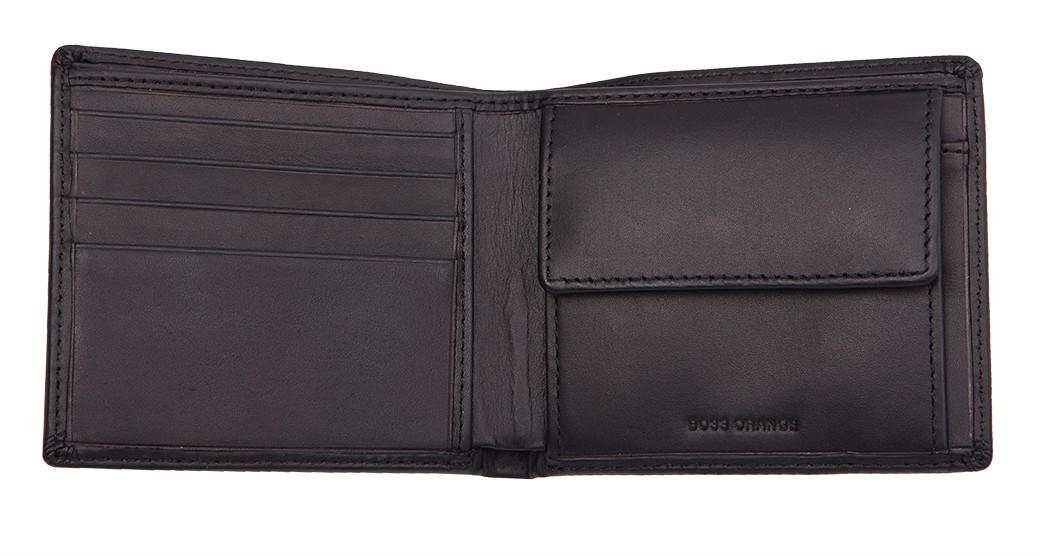 611ce288b1919 HUGO BOSS ORANGE skórzany męski portfel na bilon -40%%% - EITALIA.pl ...