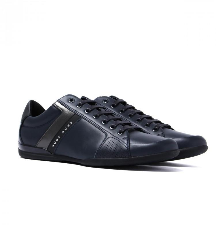 48f101b26dc18 HUGO BOSS BLACK markowe męskie buty sneakersy NOWOŚĆ granatowy