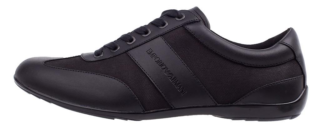 b25088a76f8e9 EMPORIO ARMANI markowe włoskie sneakersy buty 2019 NOWOŚĆ czarny ...